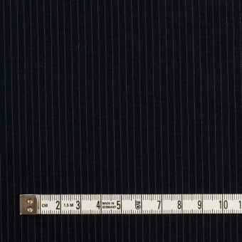コットン&リヨセル×ストライプ(ダークネイビー)×高密ポプリン サムネイル4