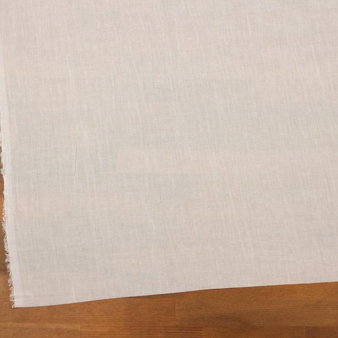コットン×無地(オフホワイト)×ボイルワッシャー_全4色 イメージ2