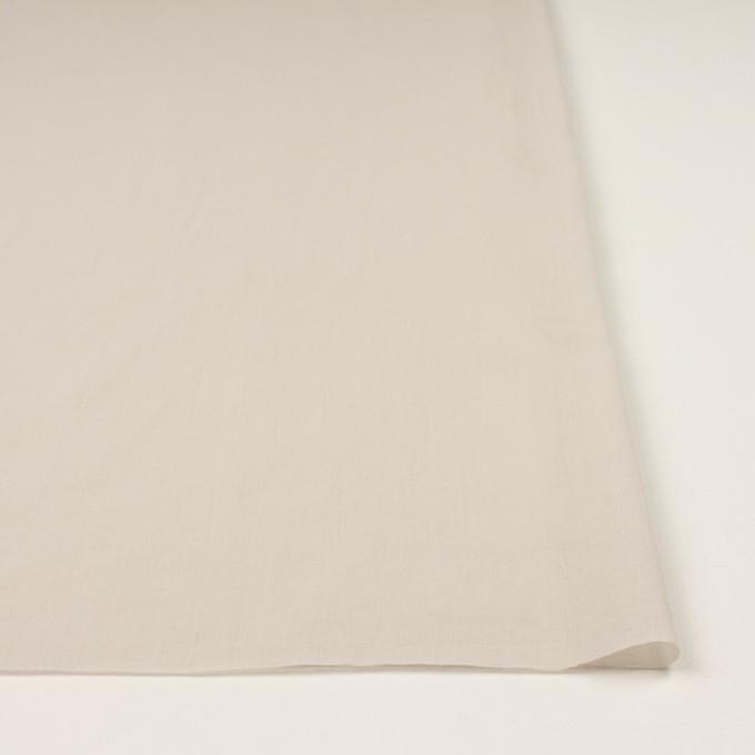 コットン×無地(アイボリー)×ボイルワッシャー_全4色 イメージ3