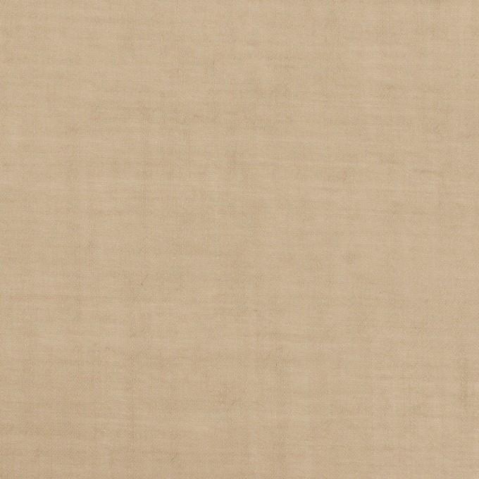 コットン×無地(カフェオレ)×ボイルワッシャー_全4色 イメージ1