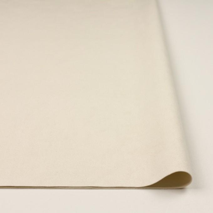 ポリエステル&ポリウレタン×無地(エクリュ)×スエード(人工皮革)_全4色 イメージ3