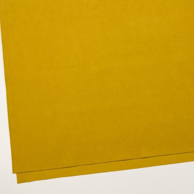 ポリエステル&ポリウレタン×無地(マスタード)×スエード(人工皮革)_全4色 イメージ2