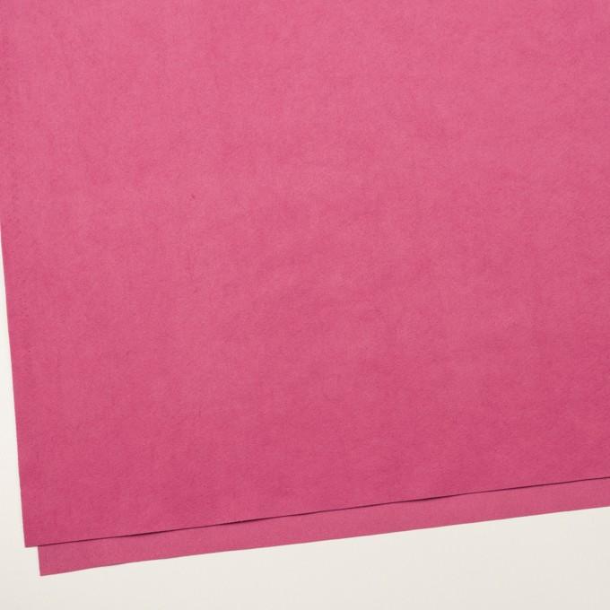 ポリエステル&ポリウレタン×無地(チェリーピンク)×スエード(人工皮革)_全4色 イメージ2