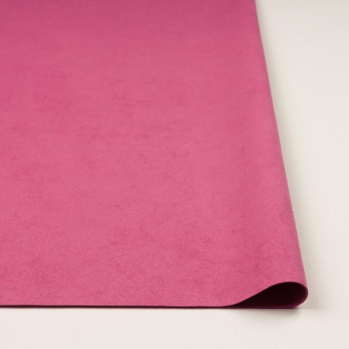 ポリエステル&ポリウレタン×無地(チェリーピンク)×スエード(人工皮革)_全4色 イメージ3