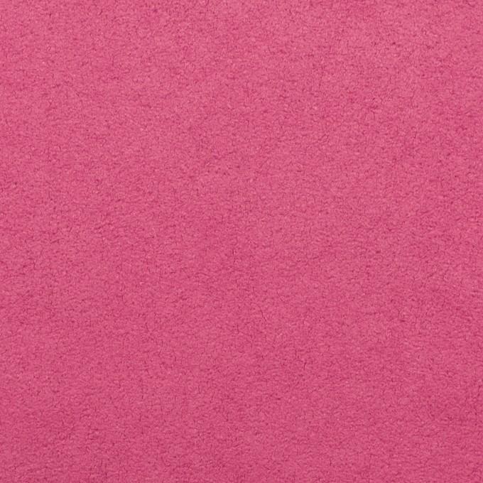 ポリエステル&ポリウレタン×無地(チェリーピンク)×スエード(人工皮革)_全4色 イメージ1