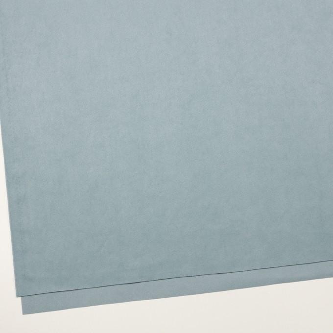 ポリエステル&ポリウレタン×無地(ブルーグレー)×スエード(人工皮革)_全4色 イメージ2