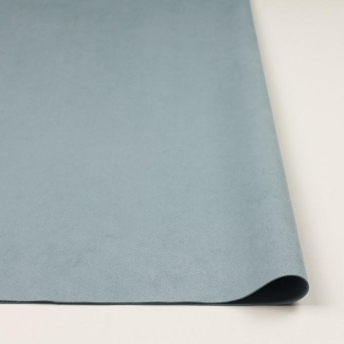 ポリエステル&ポリウレタン×無地(ブルーグレー)×スエード(人工皮革)_全4色 イメージ3