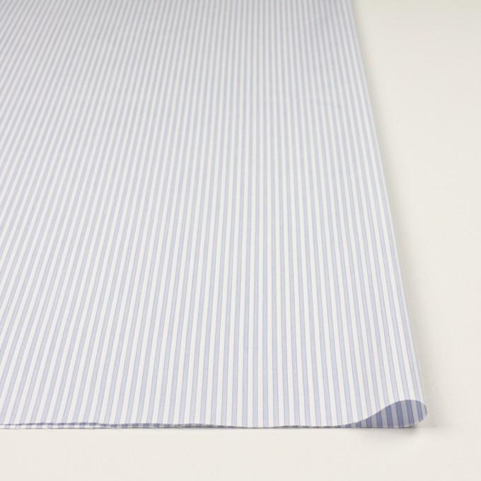 コットン×ストライプ(ペールブルー)×ブロード イメージ3
