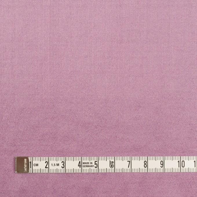 シルク&ナイロン混×無地(モーブ)×シャンブレー・シフォンストレッチ イメージ4