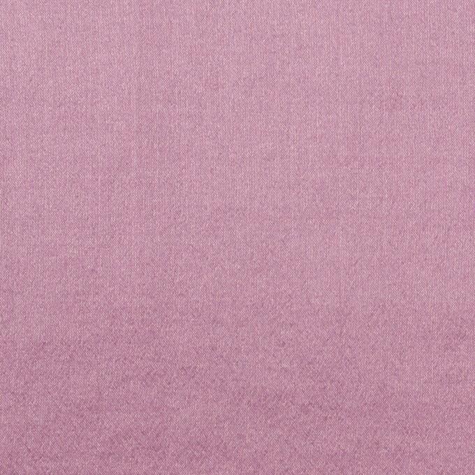 シルク&ナイロン混×無地(モーブ)×シャンブレー・シフォンストレッチ イメージ1
