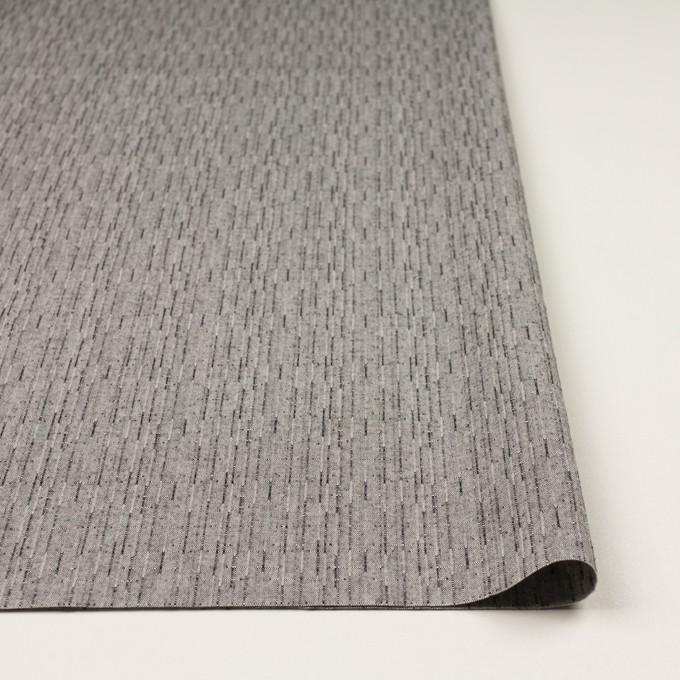 コットン&ポリエステル×ミックス(グレー)×二重織 イメージ3