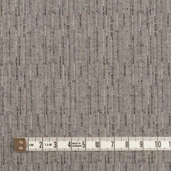 コットン&ポリエステル×ミックス(グレー)×二重織 サムネイル4