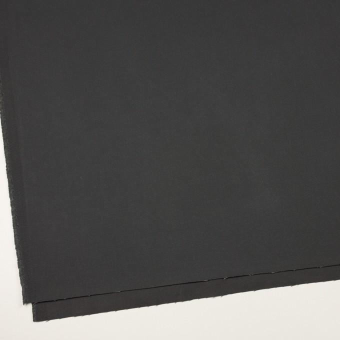 コットン×無地(チャコールグレー)×チノクロス イメージ2
