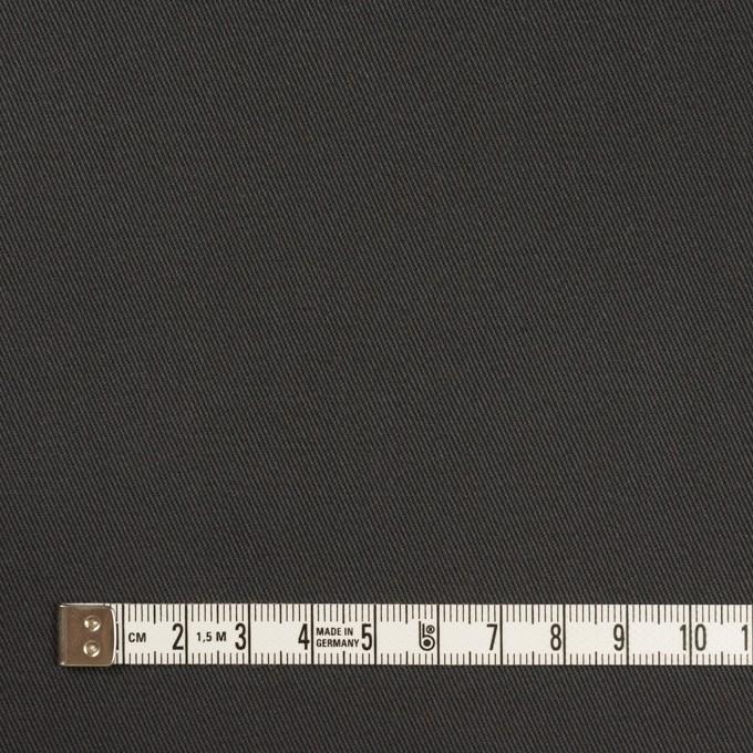 コットン×無地(チャコールグレー)×チノクロス イメージ4