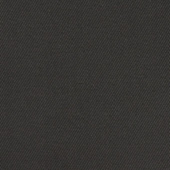 コットン×無地(チャコールグレー)×チノクロス