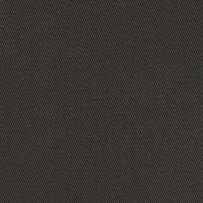 コットン×無地(チャコールグレー)×チノクロス イメージ1