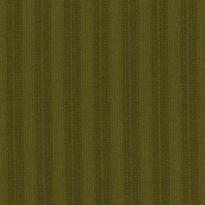 コットン×ストライプ(カーキグリーン)×シーチングドビー イメージ1