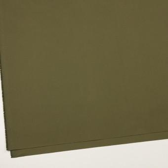 コットン×無地(カーキグリーン)×高密ポプリン_イタリア製 サムネイル2