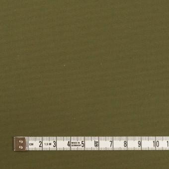 コットン×無地(カーキグリーン)×高密ポプリン_イタリア製 サムネイル4