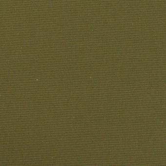コットン×無地(カーキグリーン)×高密ポプリン_イタリア製