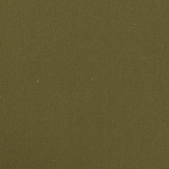 コットン×無地(カーキグリーン)×高密ポプリン_イタリア製 イメージ1