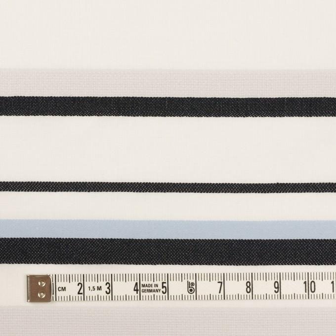 コットン×ボーダー(ストーングレー、サックス&ブラック)×ローンジャガード イメージ4