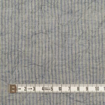 コットン×ストライプ(シトロン&ブルー)×シャンブレー・ボイルワッシャー サムネイル4