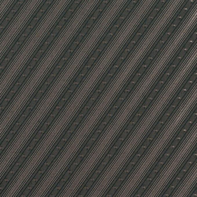 コットン&キュプラ×バイヤス(チャコール)×ジャガード_全2色 イメージ1