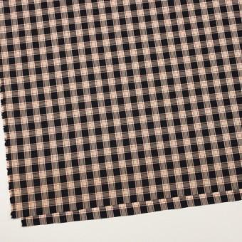 コットン×チェック(ブラック、ベリー&オレンジ)×ローン サムネイル2