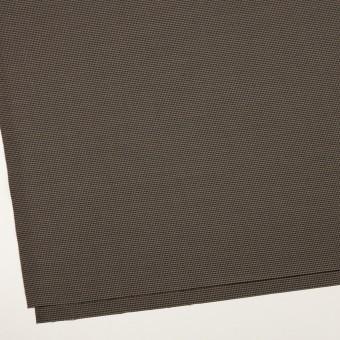 コットン&ポリエステル混×チェック(カーキ&ブラック)×千鳥格子ストレッチ サムネイル2