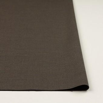 コットン&ポリエステル混×チェック(カーキ&ブラック)×千鳥格子ストレッチ サムネイル3