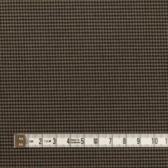 コットン&ポリエステル混×チェック(カーキ&ブラック)×千鳥格子ストレッチ サムネイル4
