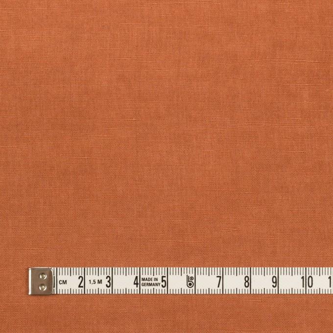 リネン&レーヨン×無地(パーシモン)×ボイル イメージ4