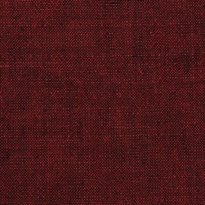 リネン×無地(ガーネット)×シャンブレー・キャンバス イメージ1