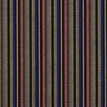 コットン×ストライプ(モカ、マスタード&ベージュ)×ジャガード_全2色