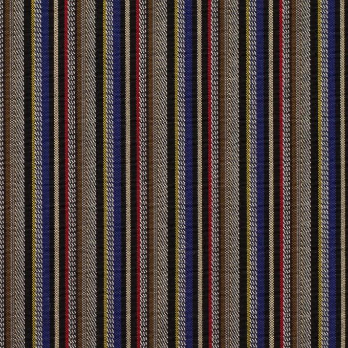 コットン×ストライプ(モカ、マスタード&ベージュ)×ジャガード_全2色 イメージ1