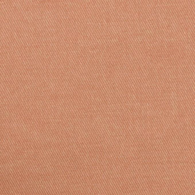 コットン&ポリエステル×無地(サーモンピンク)×チノクロス_全4色 イメージ1