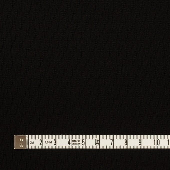 トリアセテート&ポリエステル×幾何学模様(ブラック)×フクレジャガード イメージ4