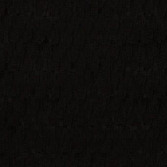 トリアセテート&ポリエステル×幾何学模様(ブラック)×フクレジャガード