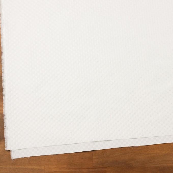 ポリエステル×スクエア(ホワイト)×グログラン・ジャガード イメージ2