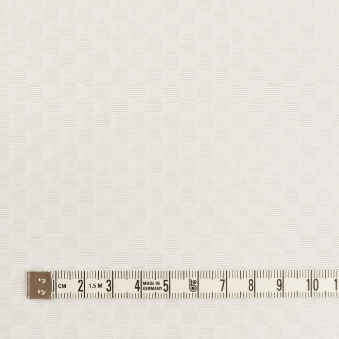 ポリエステル×スクエア(ホワイト)×グログラン・ジャガード イメージ4