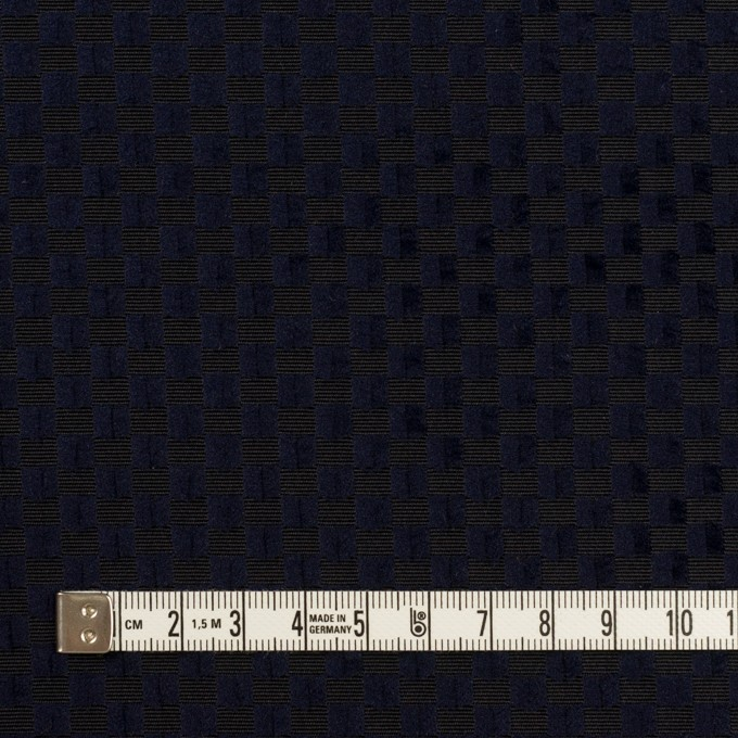 ポリエステル×スクエア(ネイビー)×グログラン・ジャガード_全2色 イメージ4