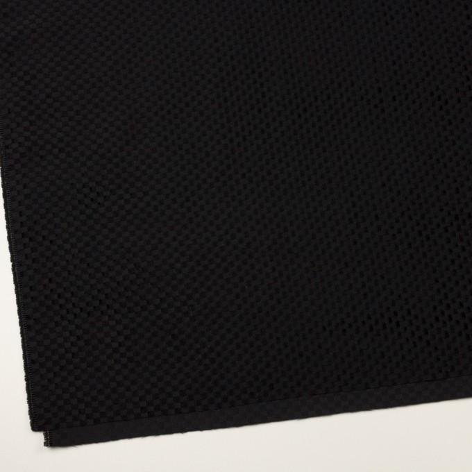 ポリエステル×スクエア(ブラック)×グログラン・ジャガード_全2色 イメージ2