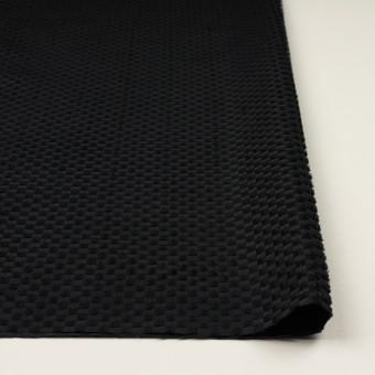 ポリエステル×スクエア(ブラック)×グログラン・ジャガード_全2色 サムネイル3