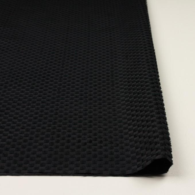 ポリエステル×スクエア(ブラック)×グログラン・ジャガード_全2色 イメージ3