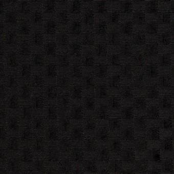 ポリエステル×スクエア(ブラック)×グログラン・ジャガード_全2色