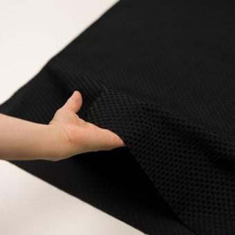 ポリエステル×スクエア(ブラック)×グログラン・ジャガード_全2色 サムネイル5