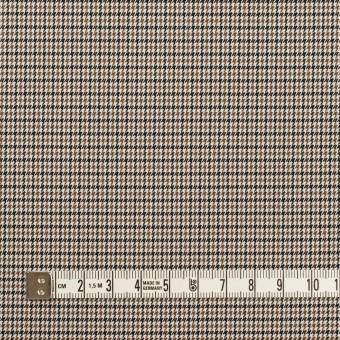 コットン&ポリエステル混×チェック(モカ&ブラック)×千鳥格子ストレッチ サムネイル4