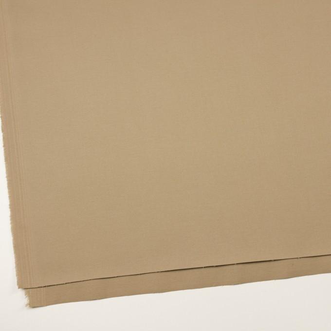 コットン&ポリウレタン×無地(カーキベージュ)×チノクロス・ストレッチ イメージ2