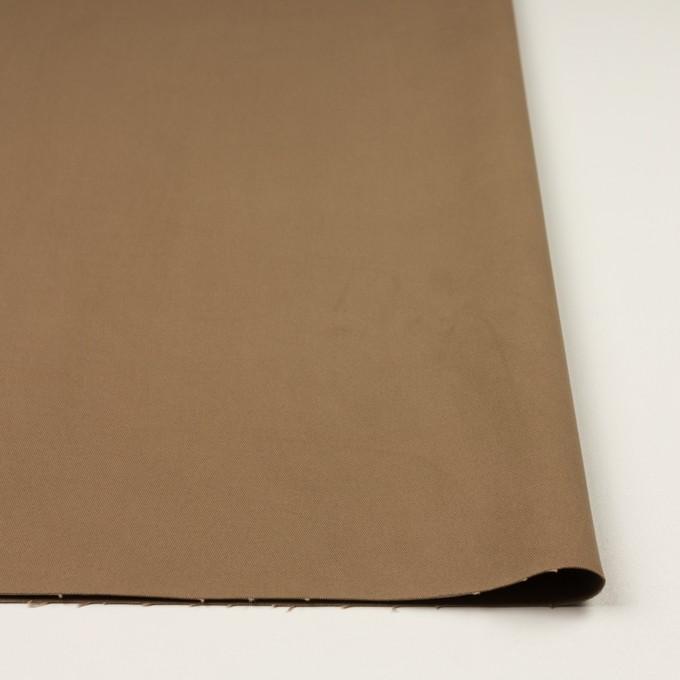 コットン&ポリウレタン×無地(モカブラウン)×チノクロス・ストレッチ イメージ3